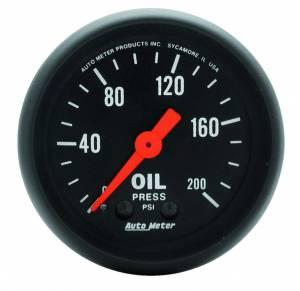 AUTO METER #2605 2in Oil Pressure Gauge