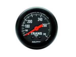AUTO METER #2615 2-1/16in Z-Series Trans. Temp. Gauge