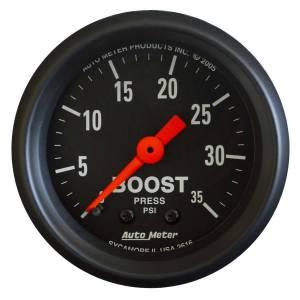 AUTO METER #2616 2-1/16in Z-Series Boost Gauge 0-35psi