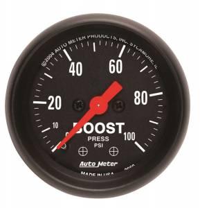 AUTO METER #2618 2-1/16in Z/S Boost Gauge - 0-100psi