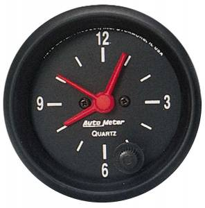 AUTO METER #2632 2in Clock - 12 Volt