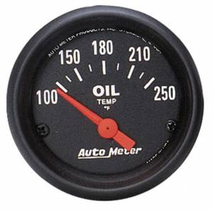 AUTO METER #2638 2-1/16in Z-Series Oil Temp Gauge 100-250
