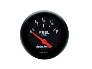 AUTO METER #2648 2-1/16 Z-Series Fuel Level Gauge 0-30 Ohms