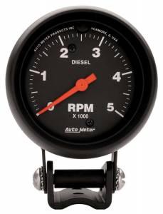 AUTO METER #2888 5000 Rpm Diesel Tach