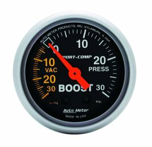 AUTO METER #3303 Boost 30 in/30 psi