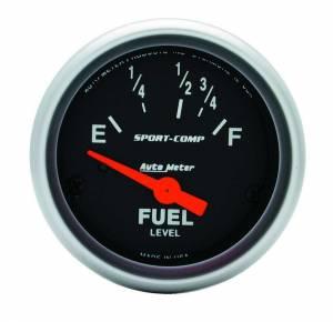 AUTO METER #3318 2-1/16in Sport Comp. Fuel Level Gauge