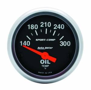 AUTO METER #3348 2-1/16in S/C Oil Temp. Gauge 140-300