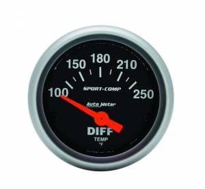AUTO METER #3349 2-1/16in S/C Differental Temp Gauge