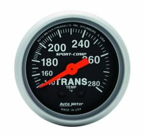 AUTO METER #3351 2-1/16in Sport Comp Trans. Temp. Gauge