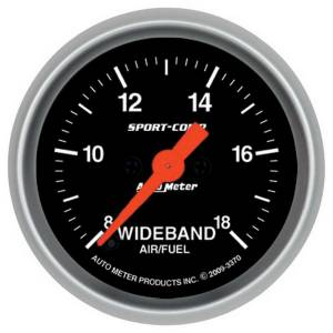 AUTO METER #3370 2-1/16 S/C Wideband Pro Air/Fuel Gauge