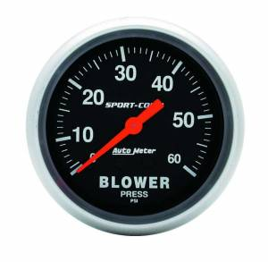 AUTO METER #3402 0-60 Psi Blower Pressure