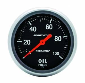 AUTO METER #3421 0-100 Oil Pressure Gauge