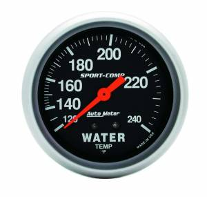 AUTO METER #3432 120-240 Water Temp Gauge