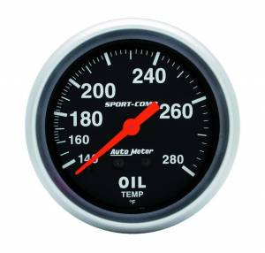 AUTO METER #3441 140-280 Oil Temp Gauge