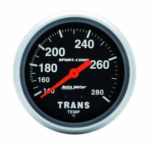 AUTO METER #3451 140-280 Trans. Temp Gaug