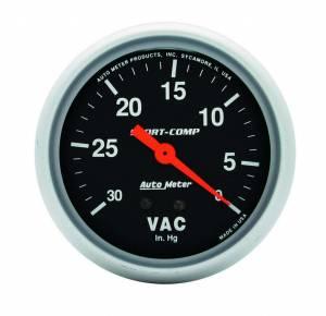 AUTO METER #3484 Vacuum  30 IN.Hg.