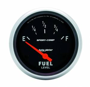 AUTO METER #3517 2-5/8in Sport Comp. Fuel Level Gauge