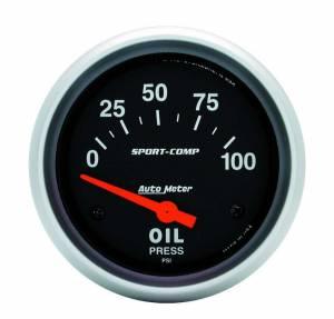 AUTO METER #3522 0-100 Oil Pressure Gauge