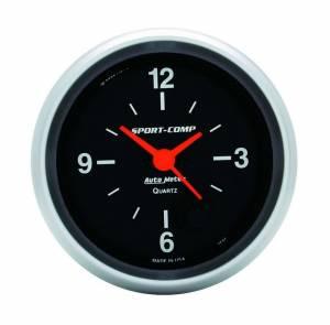 AUTO METER #3585 2-5/8in S/C 12-Volt Clock