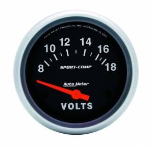 AUTO METER #3592 8-16 Voltmeter Gauge