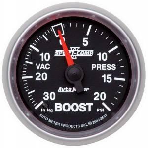 AUTO METER #3607 2-1/16in S/C II Boost Gauge 30inhg/20psi