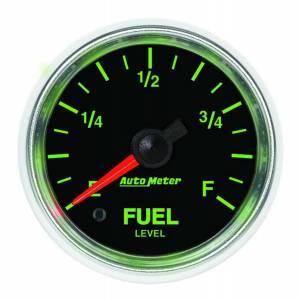 AUTO METER #3810 2-1/16 GS Fuel Level Gauge - Universal
