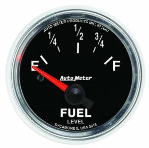 AUTO METER #3813 2-1/16 GS Fuel Level Gauge - GM 0-90ohms