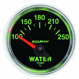AUTO METER #3837 2-1/16 GS Water Temp Gauge - 100-250