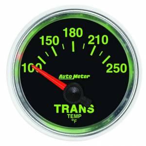 AUTO METER #3849 2-1/16 GS Trans Temp Gauge - 100-250