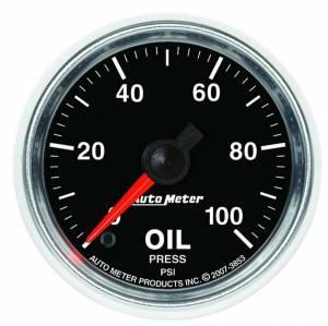 AUTO METER #3853 2-1/16 GS Oil Pressure Gauge - 0-100psi