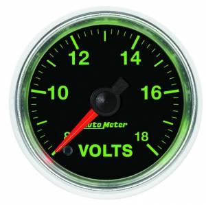 AUTO METER #3891 2-1/16 GS Voltmeter Gauge - 8-18