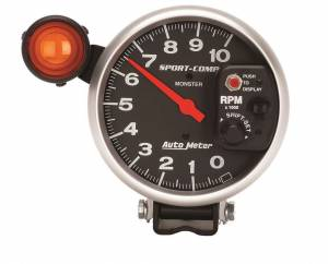 AUTO METER #3904 5in Sport Comp Monster Tach w/Shift Light