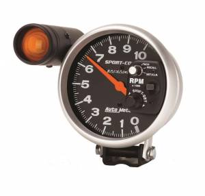 AUTO METER #3906 5in Sport Comp Monster Tach w/Recall