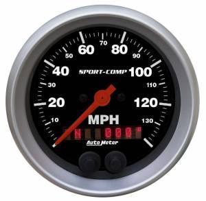 AUTO METER #3982 3-3/8 S/C GPS Speedo w/Rally-Nav Display