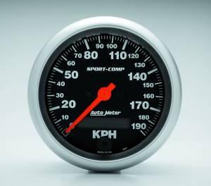 AUTO METER #3987-M 3-3/8 S/C 190KPH Speedo - Electric