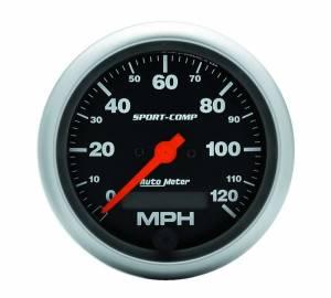 AUTO METER #3987 3-3/8in Sport Comp. Elec. 120MPH Speedometer