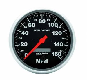 AUTO METER #3989 5in Sport Comp. Elec. 160 MPH Speedometer