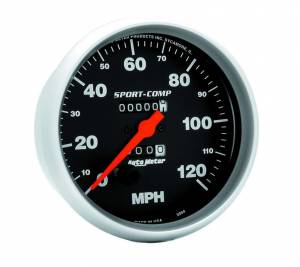 AUTO METER #3994 120 Mph Speedometer