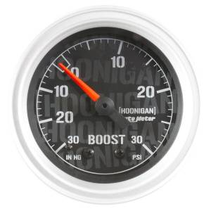 AUTO METER #4303-09000 2-1/16in Vacuum/Boost Gauge Hoonigan Series
