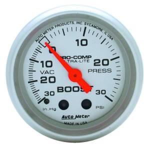AUTO METER #4303 2-1/16in Vacuum/Boost Gauge