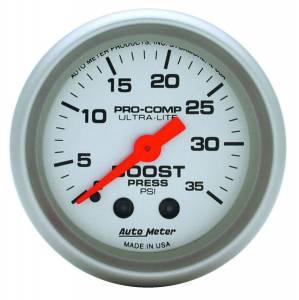 AUTO METER #4304 2-1/16in Ultra-Lite 0-35 Boost Gauge