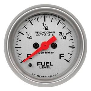 AUTO METER #4310 2-1/16in U/L Fuel Level Gauge - Programmable