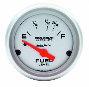 AUTO METER #4315 2-1/16in Ultra-Lite Fuel Level Gauge