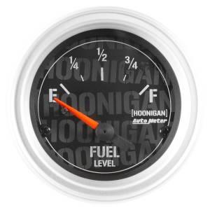 AUTO METER #4316-09000 2-1/16in Fuel Level Gauge Hoonigan Series