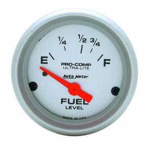 AUTO METER #4318 2-1/16in Ultra-Lite Fuel Level Gauge