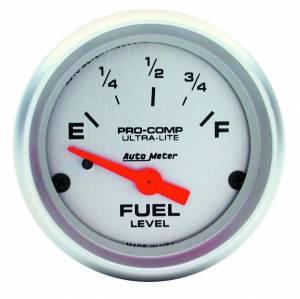 AUTO METER #4319 2-1/16 Ultra-Lite Fuel Level Gauge