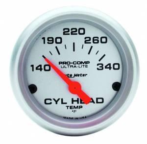 AUTO METER #4336 2-1/16in U/L Cyl. Head Temp Gauge - 140-340