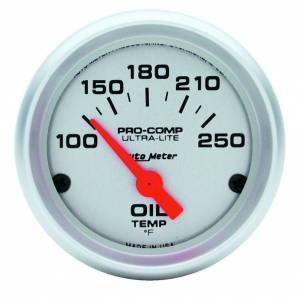 AUTO METER #4347 2-1/16in Ultra Light Oil Temp. Gauge