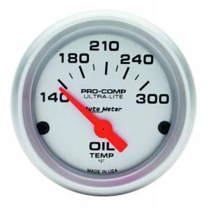 AUTO METER #4348 Ultra-Lite 2in Oil Temp. 140-300 F. Elect.