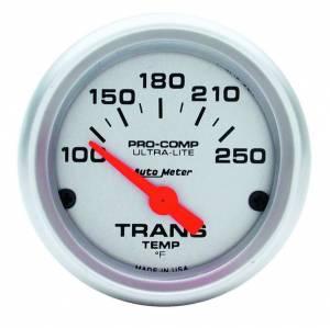 AUTO METER #4357 2-1/16in Trans Temp. Gauge 100-250